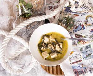 Tofu a la marinera, comida para la oficina, comida para niños, comida natural
