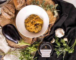 PLATO DE COMIDA DE ALBONDIGAS DE BERENJENAS, comida para la oficina, comida para niños, comida natural